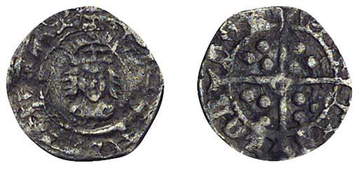 Henry VIII, Halfpenny, 0.31g.,
