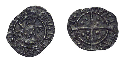 Henry VIII, Halfpenny, 0.26g.,