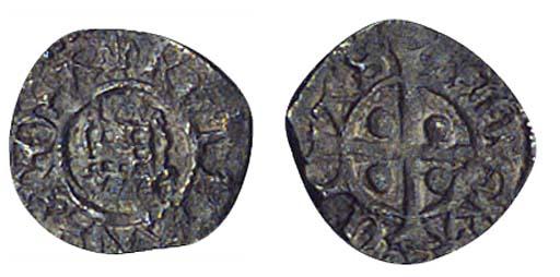 Henry VIII, Farthing, 0.17g.,