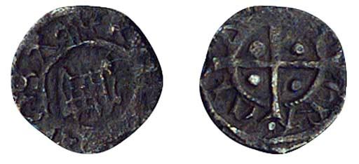 Henry VIII, Farthing, 0.11g.,