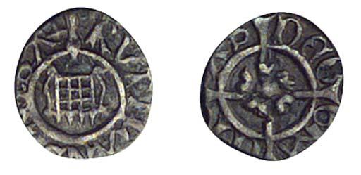Henry VIII, Farthing, 0.15g.,