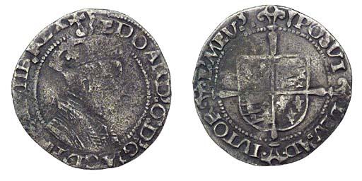 Edward VI, Groat, 2.12g., firs