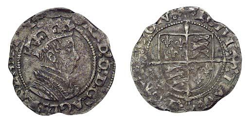 Edward VI, Groat, 2.08g., firs