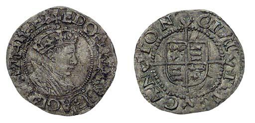 Edward VI, Halfgroat, 1.17g.,