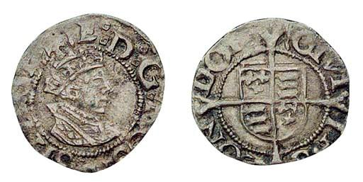 Edward VI, Penny, 0.58g., firs