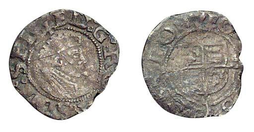 Edward VI, Penny, 0.51g., firs