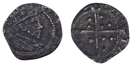 Edward VI, Halfpenny, 0.19g.,