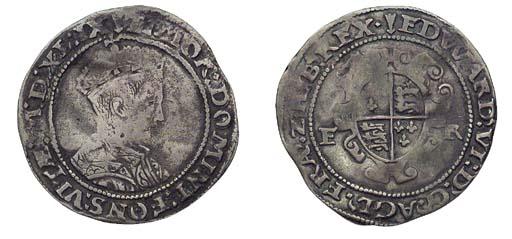 Edward VI, Shilling, 3.61g., s