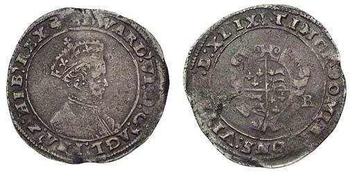 Edward VI, Shilling, 4.20g., s