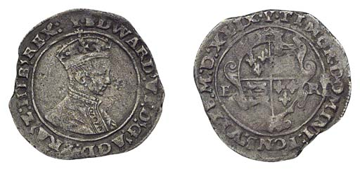 Edward VI, Shilling, 4.04g., s