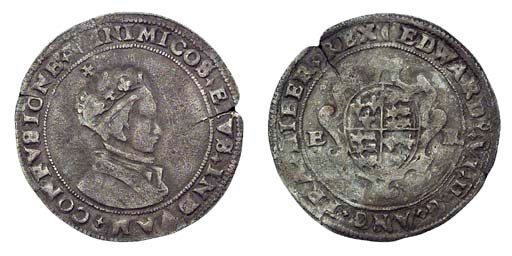 Edward VI, Shilling, 4.52g., s