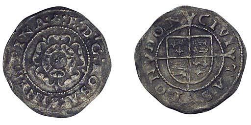 Edward VI, base Penny, 0.61g.,