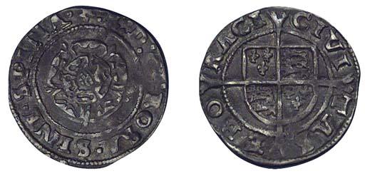 Edward VI, base Penny, 0.84g.,
