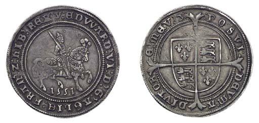 Edward VI, Halfcrown, 15.55g.,