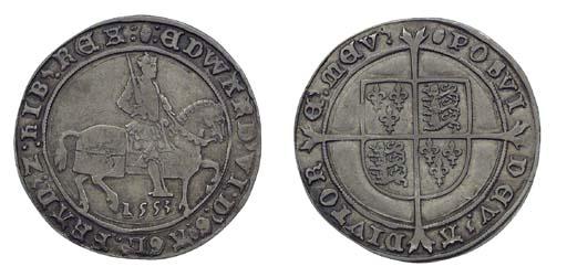 Edward VI, Halfcrown, 14.84g.,