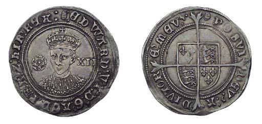 Edward VI, Shilling, 5.80g., t