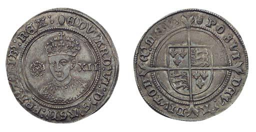 Edward VI, Shilling, 6.16g., t