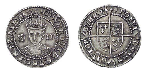 Edward VI, Threepence, 1.51g.,
