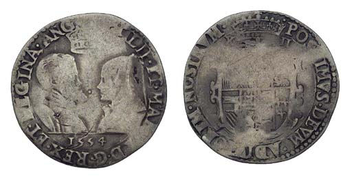 Philip and Mary, Shilling, 5.3