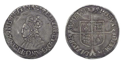 Elizabeth I, Shilling, 5.93g.,