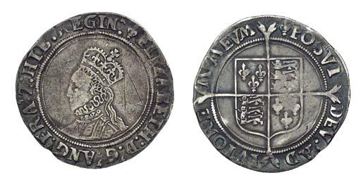 Elizabeth I, Shilling, 5.37g.,