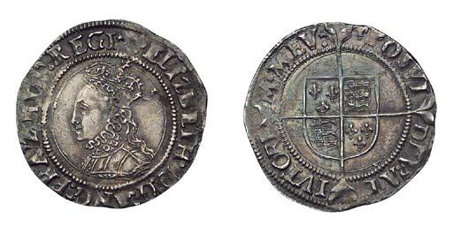 Elizabeth I, Groat, 1.97g., fi