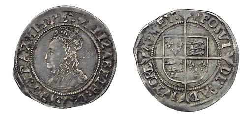 Elizabeth I, Groat, 2.02g., fi