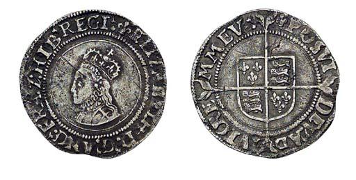 Elizabeth I, Groat, 1.79g., fi