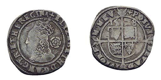 Elizabeth I, Piedfort Threepen