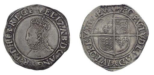 Elizabeth I, Shilling, fifth i