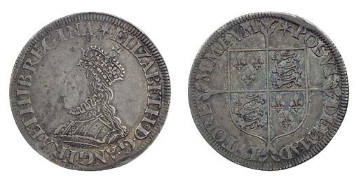 Elizabeth I, Shilling, milled