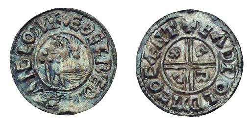Aethelred II, Penny, Crux Type