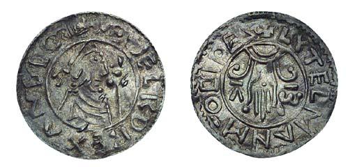 Aethelred II, Penny, Second Ha