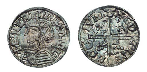 Aethelred II, Penny, Helmet ty