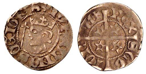 John Baliol (1292-96), Penny,
