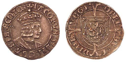 James V, Groat, Edinburgh, sec