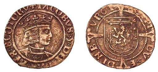James V, Groat, Edinburgh, sec