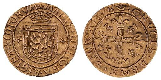 Mary (1542-67), Ecu or Abbey C