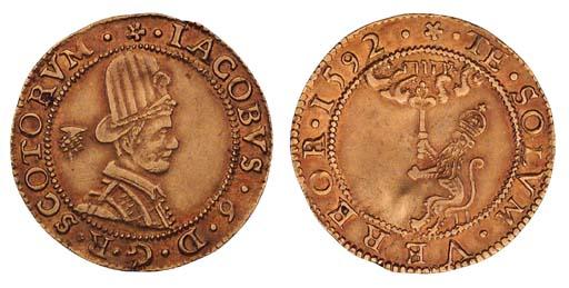 James VI, Hat piece, 4.46g., s