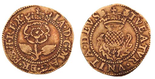 James VI, Thistle Crown, 1.92g