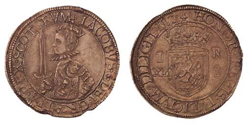 James VI, Twenty shillings, fo