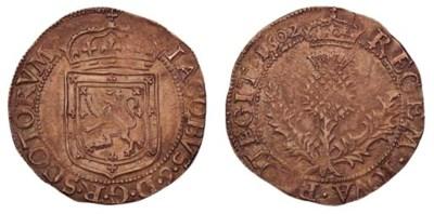 James VI, Thistle merk, eighth
