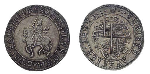 Charles I (1625-49), Crown, gr