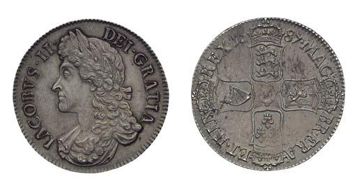 James II (1685-88), Crown, 168