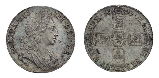 William III, Crown, 1695, firs