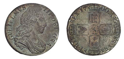 William III, Crown, 1700, thir