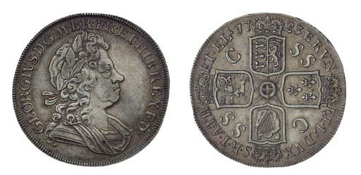 George I (1714-27), Crown, 172
