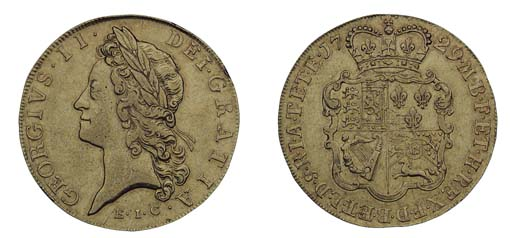 George II (1727-60), Five-guin