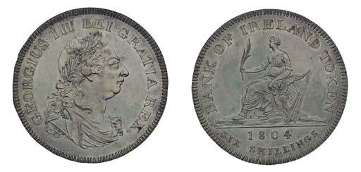 George III, proof Bank of Irel