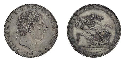 George III,  Crown, 1819 LIX,